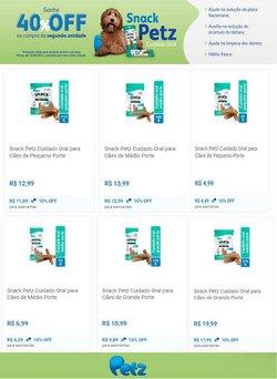 Ofertas de Petz no catálogo Petz (  Vencido)