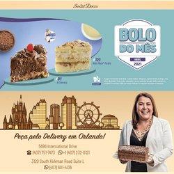 Ofertas Restaurantes no catálogo Sodiê Doces em Brasília ( 20 dias mais )