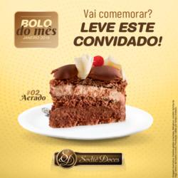 Promoção de Restaurantes, lanchonetes no folheto de Sodiê Doces em Curitiba