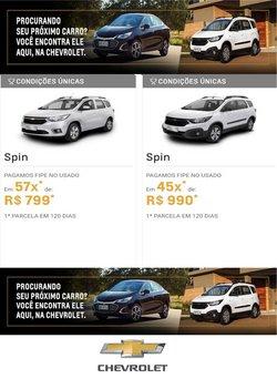 Ofertas de Chevrolet no catálogo Chevrolet (  Vencido)