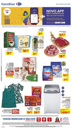 Ofertas Supermercados no catálogo Carrefour em São Bernardo do Campo ( 3 dias mais )