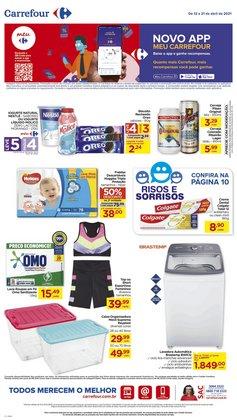 Ofertas Supermercados no catálogo Carrefour em Uberlândia ( 3 dias mais )
