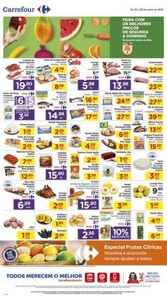 Ofertas de Supermercados no catálogo Carrefour (  Publicado ontem)