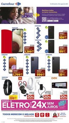 Ofertas de Samsung no catálogo Carrefour (  Publicado hoje)