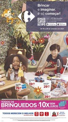Ofertas de Brinquedos, Bebês e Crianças no catálogo Carrefour (  11 dias mais)