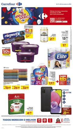 Ofertas de Supermercados no catálogo Carrefour (  Vence hoje)