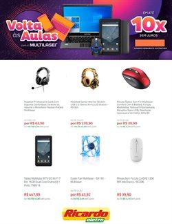 Ofertas Tecnologia e Eletrônicos no catálogo Ricardo Eletro em Juazeiro ( 5 dias mais )