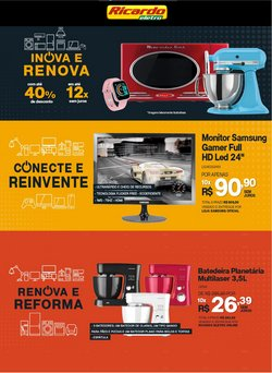 Ofertas de Ricardo Eletro no catálogo Ricardo Eletro (  Vencido)
