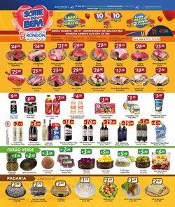 Ofertas Supermercados no catálogo Supermercados Rondon em Poços de Caldas ( Vence hoje )