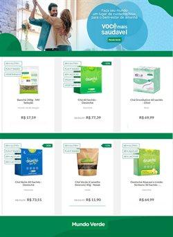 Ofertas Perfumarias e Beleza no catálogo Mundo Verde em Santos ( 3 dias mais )