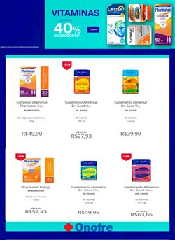 Ofertas Farmácias e Drogarias no catálogo Onofre em Belo Horizonte ( Vence hoje )