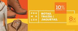 Promoção de Lojas Pompéia no folheto de Porto Alegre