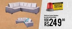 Promoção de Komfort House no folheto de São Paulo