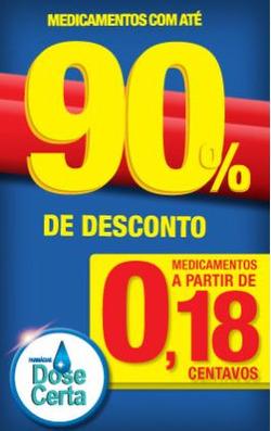 Promoção de Farmácia Dose Certa no folheto de Fortaleza
