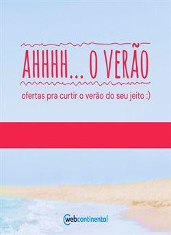 Ofertas Tecnologia e Eletrônicos no catálogo WebContinental em Goiânia ( 16 dias mais )