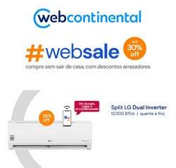 Ofertas Tecnologia e Eletrônicos no catálogo WebContinental em Rio de Janeiro ( Publicado ontem )