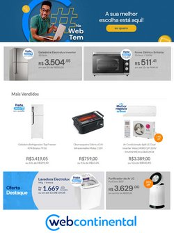 Ofertas de Tecnologia e Eletrônicos no catálogo WebContinental (  Vence hoje)