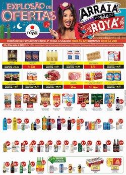 Ofertas de Supermercados no catálogo Royal Supermercados (  Publicado hoje)
