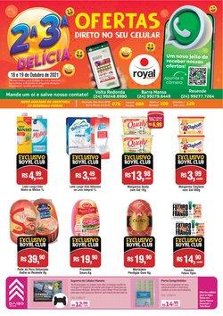 Ofertas de Supermercados no catálogo Royal Supermercados (  Vence hoje)