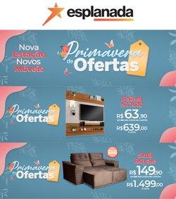 Ofertas de Casa e Decoração no catálogo Esplanada Móveis (  3 dias mais)
