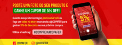 Promoção de Copafer no folheto de Santo André