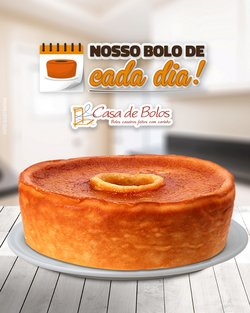 Ofertas Restaurantes no catálogo Casa de Bolos em São Paulo ( 24 dias mais )