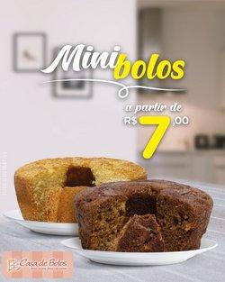 Ofertas Restaurantes no catálogo Casa de Bolos em Niterói ( Vence hoje )
