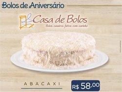Ofertas de Casa de Bolos no catálogo Casa de Bolos (  15 dias mais)