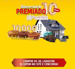 Cupom Casa de Bolos em Londrina ( 25 dias mais )