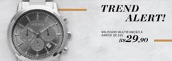 Promoção de Euro Relógios no folheto de São Paulo