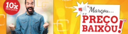 Promoção de Maisvaldir no folheto de Santo André