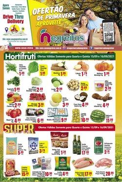 Ofertas de Negreiros Supermercados no catálogo Negreiros Supermercados (  Válido até amanhã)