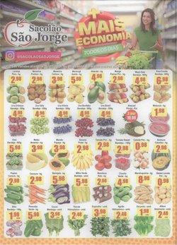 Ofertas de Sacolão São Jorge no catálogo Sacolão São Jorge (  Vencido)