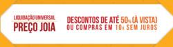 Promoção de Universal Joias no folheto de São José dos Campos
