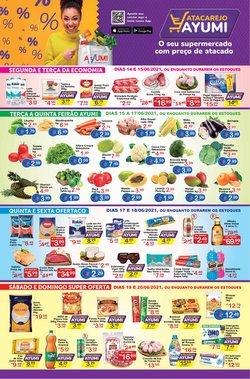 Ofertas de Supermercados no catálogo Ayumi Supermercados (  Publicado hoje)