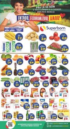 Ofertas de Superbom Supermercados no catálogo Superbom Supermercados (  Vence hoje)
