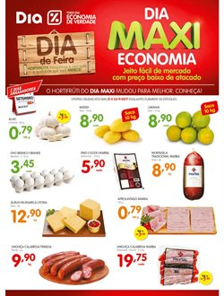 Promoção de Supermercados no folheto de Supermercado Dia em Lorena