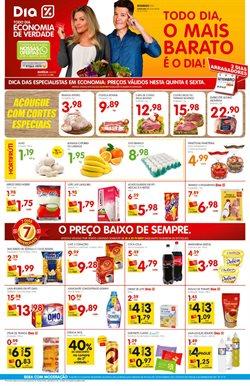 Promoção de Detergente no folheto de Supermercado Dia em Porto Alegre