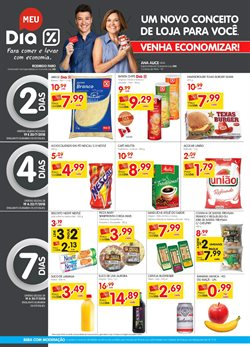 Promoção de Supermercado Dia no folheto de Americana