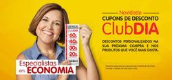 Promoção de Supermercado Dia no folheto de São João da Boa Vista