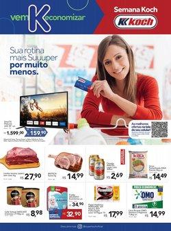 Ofertas de Supermercados Koch no catálogo Supermercados Koch (  Vence hoje)