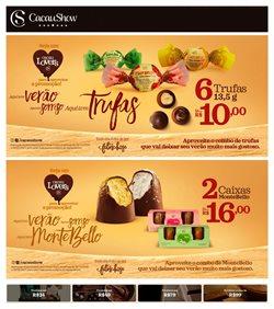 Ofertas Restaurantes no catálogo Cacau Show em São Roque ( Mais de um mês )