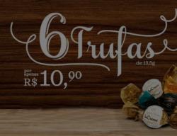 Promoção de Restaurantes, lanchonetes no folheto de Cacau Show em Mauá