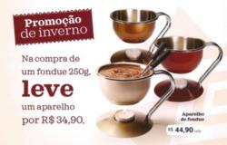 Promoção de Restaurantes, lanchonetes no folheto de Cacau Show em Feira de Santana