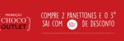 Promoção de Restaurantes, lanchonetes no folheto de Cacau Show em Nossa Senhora do Socorro