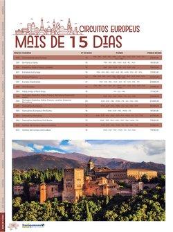 Ofertas de Viagens, Turismo e Lazer no catálogo Europamundo Vacaciones (  Mais de um mês)