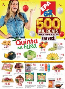 Ofertas de Supermercados no catálogo Epa (  Vence hoje)