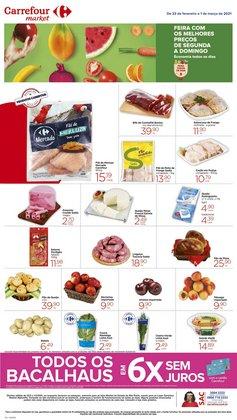 Catálogo Carrefour Market ( Válido até amanhã )