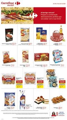 Catálogo Carrefour Market em São Paulo ( Válido até amanhã )