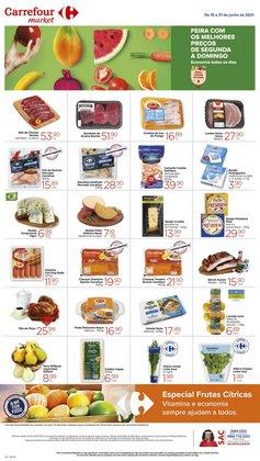 Ofertas de Supermercados no catálogo Carrefour Market (  Publicado ontem)